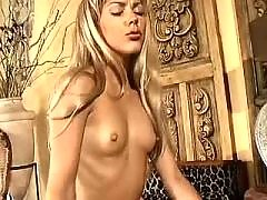Girl rides shemales dick. Blonde Shemale Porn
